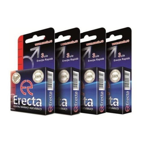 Erecta - 4 pastila | Magazin pastile potenta